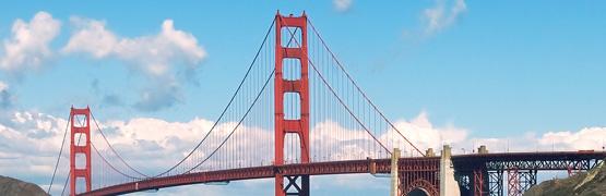 サンフランシスコ、ゴールデン・ゲート・ブリッジ